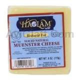 Haolam Reduced Fat Sliced Natural Muenster Cheese 6 oz