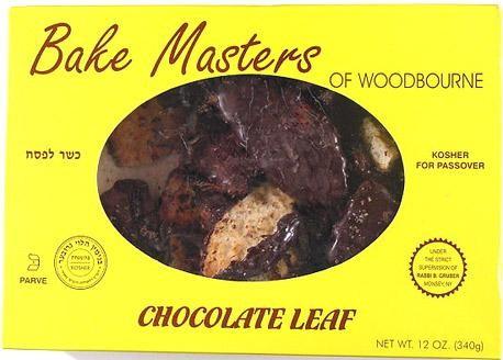 Bake Masters Chocolate Leaf Cookies 12 oz