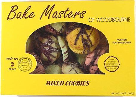 Bake Masters Mixed Cookies 12 oz