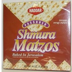 Haddar Shmura Matzos Baked In Jerusalem 16 oz