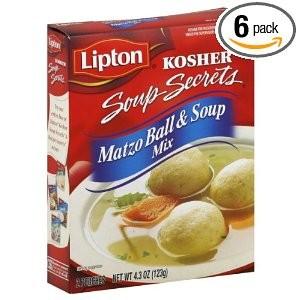 Lipton Soup Secrets Matzo Ball & Soup Mix 4.3 oz